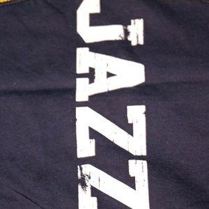 Tops - Utah Jazz Women's Baby Jersey Racer Back Tank Top